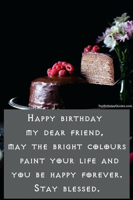 Nice Birthday Wishes Quotes Images Sample And List Of To