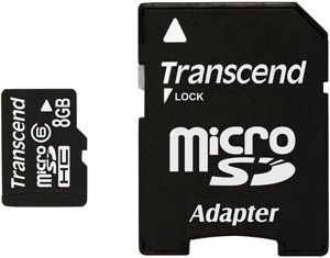 Transcend Micro Secure Digital High Capacity (MicroSDHC) Memory Card - 8GB - Class 6 No description http://www.comparestoreprices.co.uk/other-products/transcend-micro-secure-digital-high-capacity-microsdhc-memory-card--8gb--class-6.asp