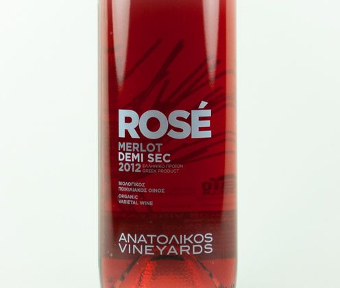 Rose Ημίξηρος 2012 - Ανατολικός Αμπελώνας