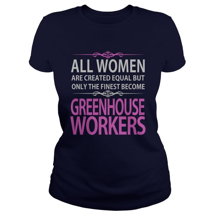 Greenhouse Workers T-Shirts, Hoodies. GET IT ==► https://www.sunfrog.com/Jobs/Greenhouse-Workers-Navy-Blue-Ladies.html?id=41382
