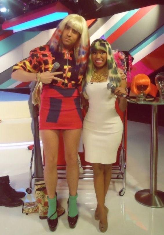 Nick Grimshaw and Nicki Minaj  GRIMMY I love you