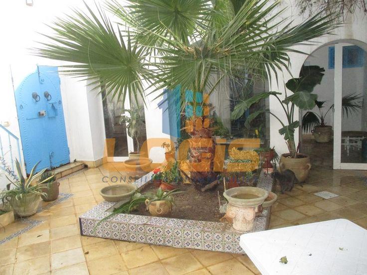 Maison arabe (R+1)  de 300m² couvert,au Coeur de la ville d'Hammamet