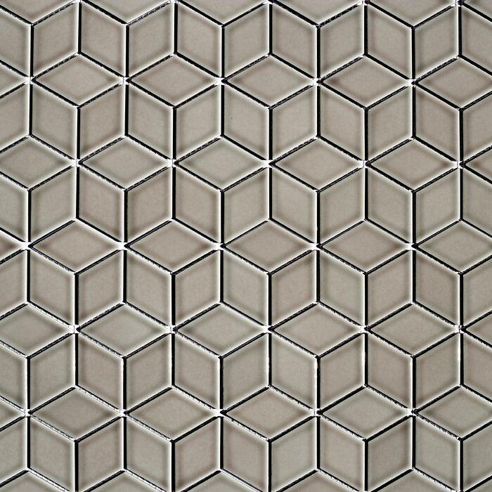 Monet Porcelain Diamond 2 X 2 Mosaic Tile Mosaic Tiles Porcelain Mosaic Tile Mosaic Wall Tiles