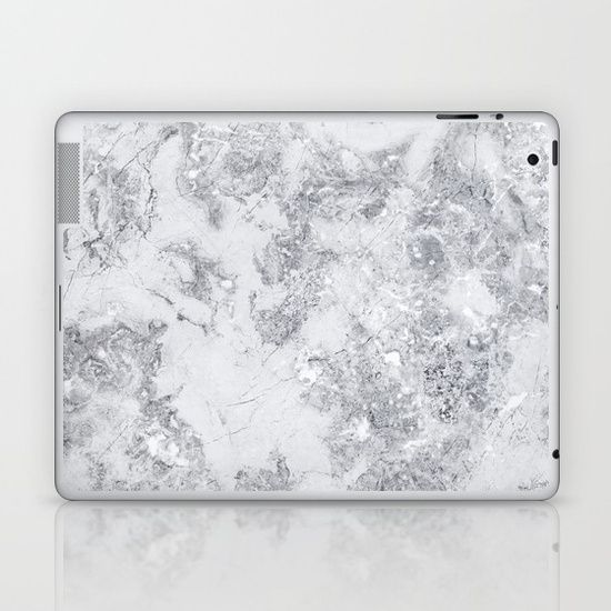 MARBLE LAPTOP SKIN-Skins are thin, easy-to-remove, vinyl decals for customizing your laptop . Skins are made from a patented material that eliminates air bubbles and wrinkles for easy application. ShopTwenty9 @society6
