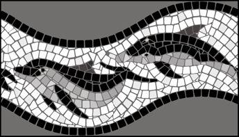 Мозаичные трафареты канты, лилии, орнаменты .... Обсуждение на LiveInternet - Российский Сервис Онлайн-Дневников