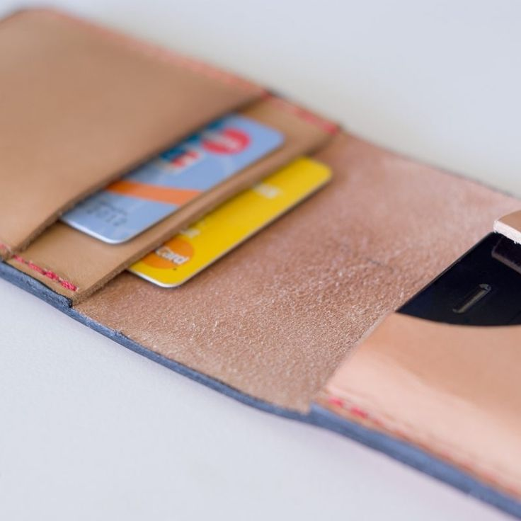 Leatherwork Tutorial: How to make a leather iPhone Flip Wallet