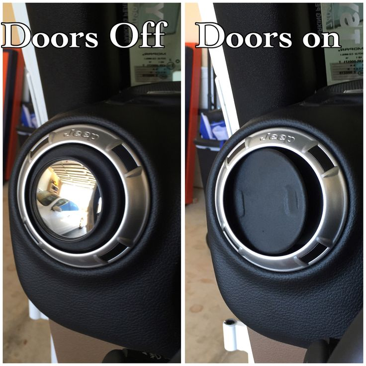 Cheap Jeep Hack! Cheap Blindspot Mirrors For When The