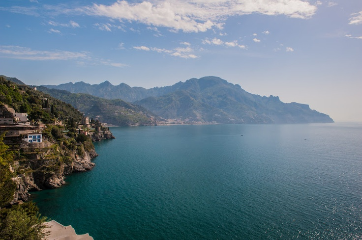 View from Hotel Villa San Michele in Ravello, Italy (Amalfi Coast)