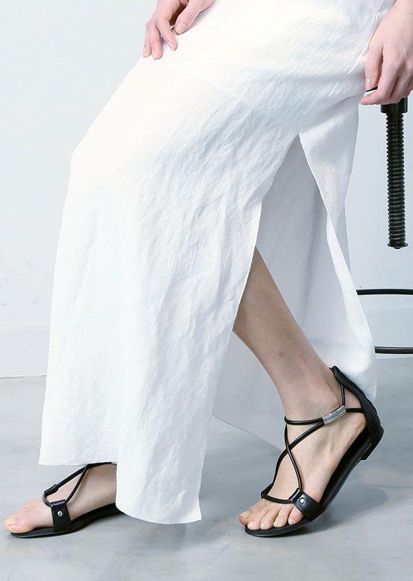 キャミソール ロングドレス