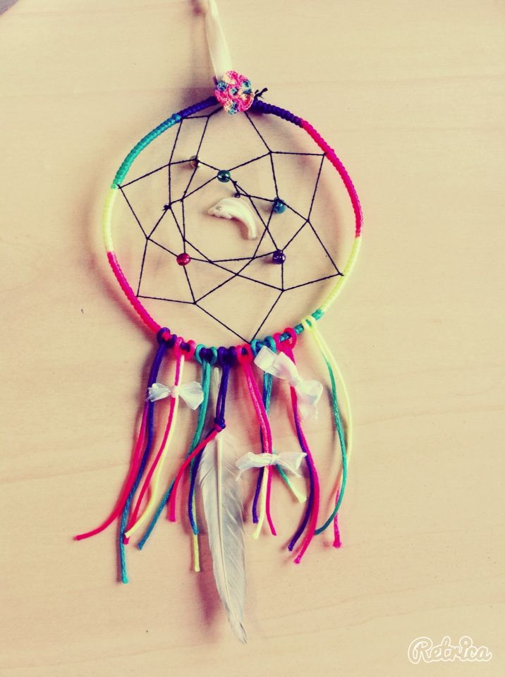 Rainbow dream catcher ❤️