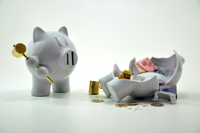 The Revenge of the Piggy Bank by Furf Design.