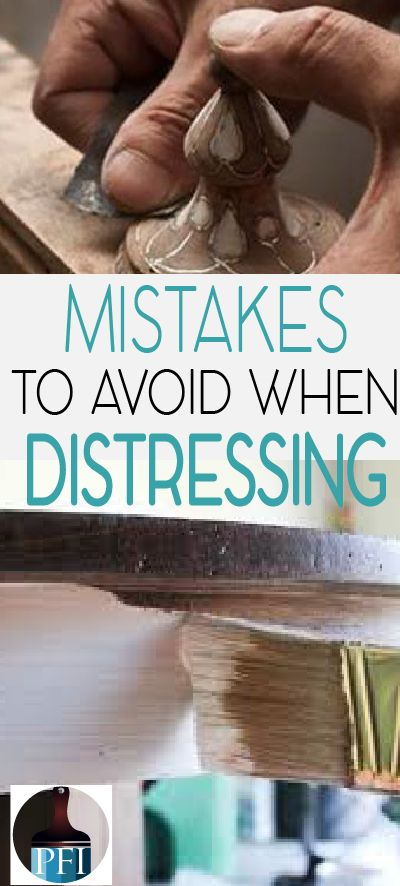 Distressing and aging painted furniture is all the rage. Learn from others and have success on your project! Here are some common mistakes I have seen.