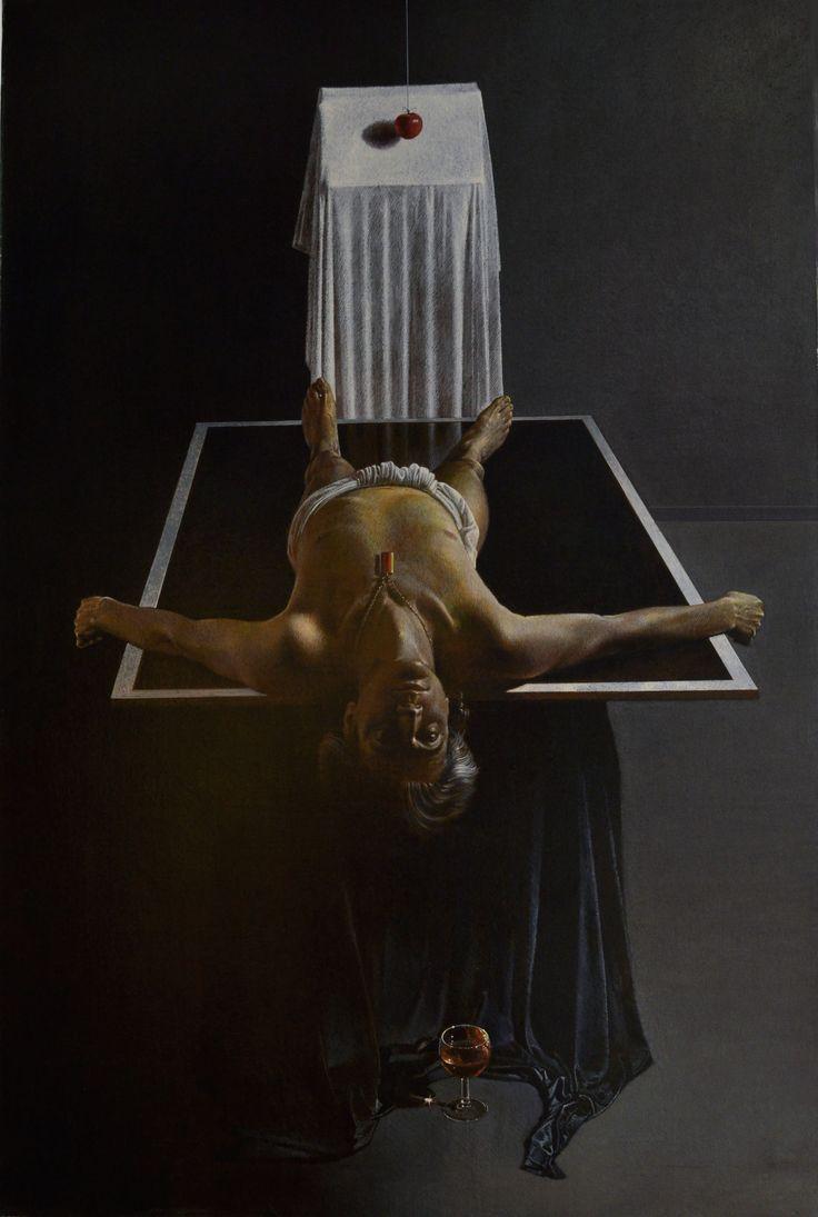 LA RESURREZIONE DI LAZZARO cm100 x150