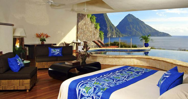 Located in the eastern Caribbean Sea, Jade Mountain in St. Lucia is one of the most incredible resorts the Sifter has seen. Each room has only three walls and a private infinity pool with stunning panoramic views of the beautiful Caribbean. A tropical oasis, this slice of heaven doesn't come cheap, with nightly rates…