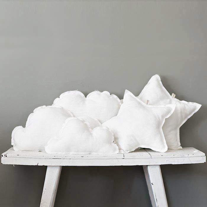 coussin nuage /etoiles