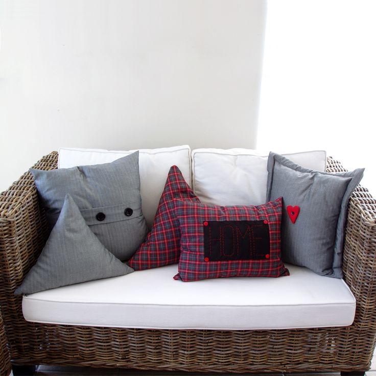 Cushions in various shapes