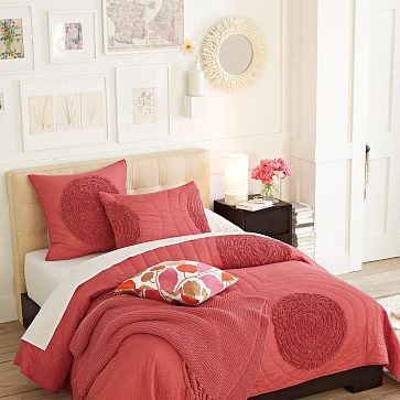 king bedding-poppy quilt