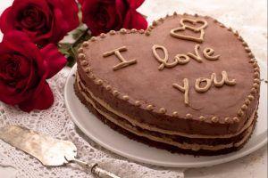 San Valentino – Torta I Love You al cioccolato S.Valentino | Ricette&Sapori