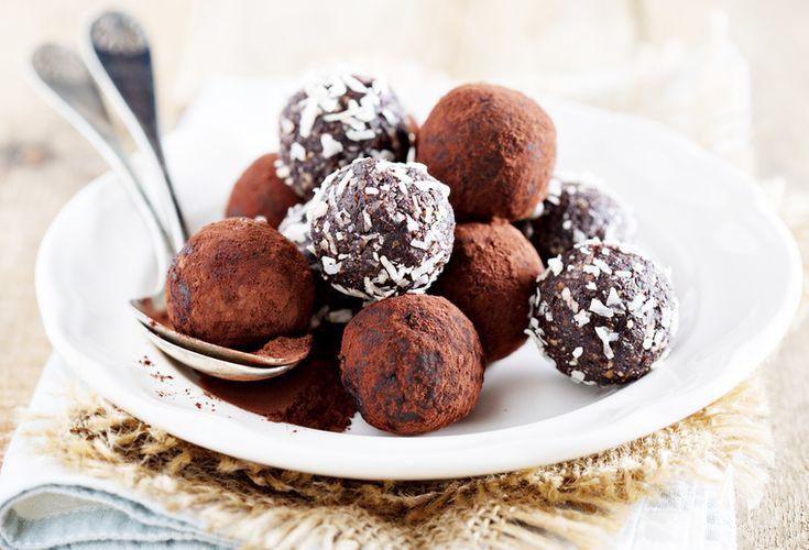 How to Green | Рецепт веганских шоколадных шариков