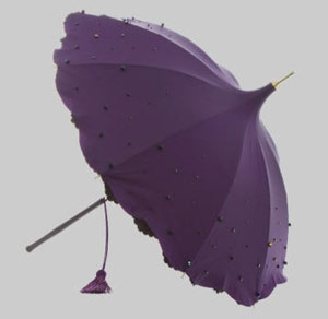 Alexandra Sojfer - Umbrellas crafted entirely by hand.