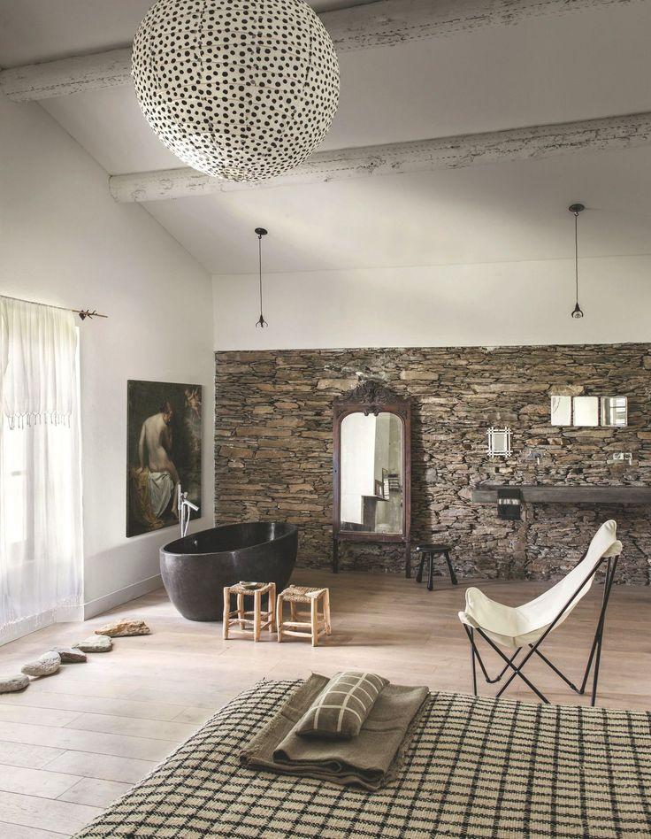 25 beste idee n over vasque en pierre op pinterest vasque pierre aardse badkamer en sanitair - Badkamer epuree ...
