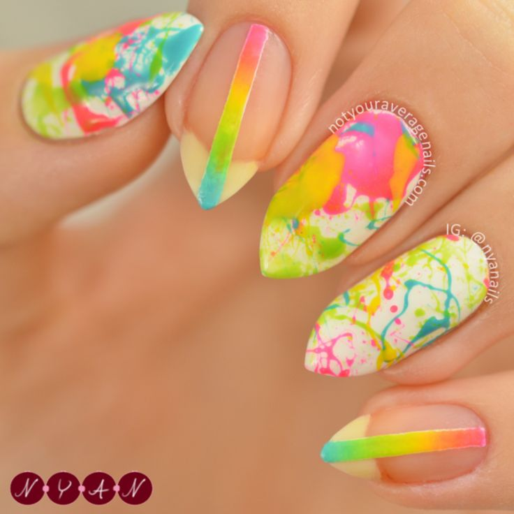 Make Me Colourful nail art