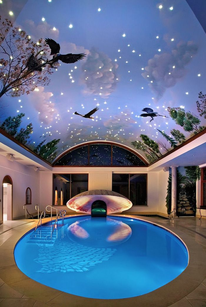 Big Mansions With Indoor Pools 147 best habitaciones - piscinas images on pinterest | theater