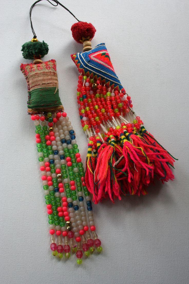 Hmong tassels.