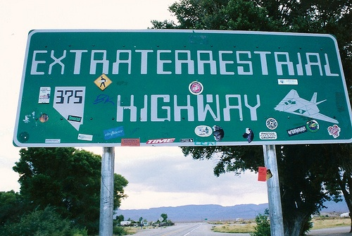 The Extraterrestrial Highway can be found just off of Nevada State Route 375. Situated near the unofficial site of the supposedly nonexistent Area 51, the highway has been the site of several undocumented UFO sightings. The residents of Rachel, the down right up the road, swear they're real, though. You'll just have to go see for yourself.