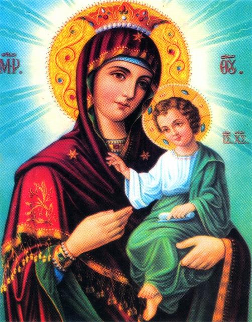 Orthodoxen Madonna - Maria Mutter Jesu