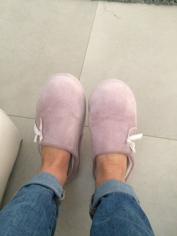 12th April - My Slippers are the best