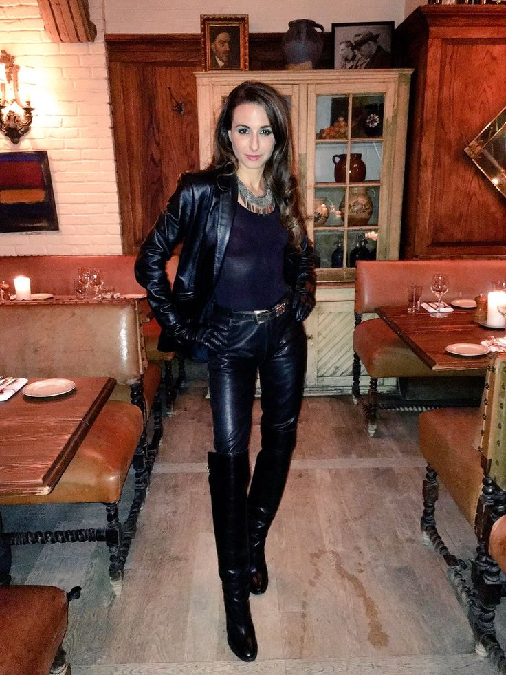 17 Best Images About Leather Ladies In Black On Pinterest Leather Outfits Catsuit And Leather