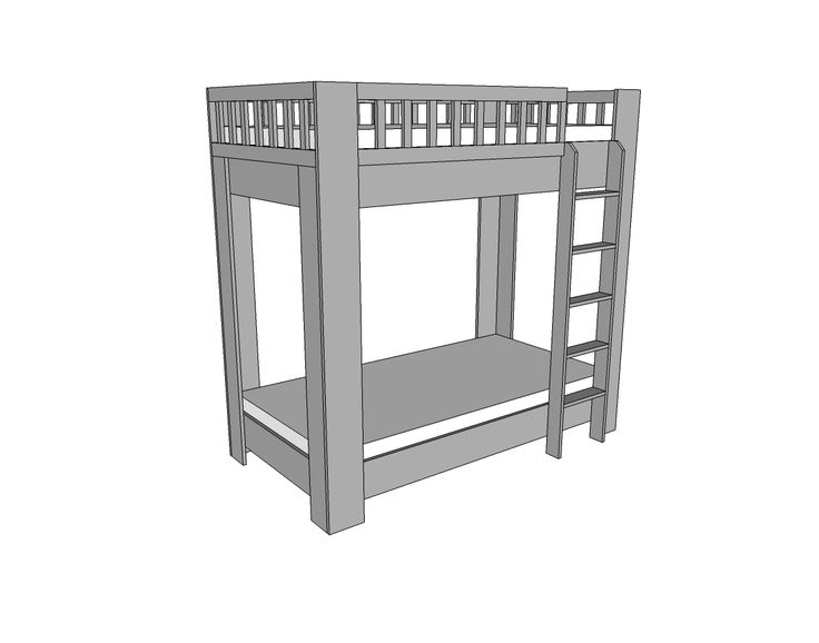 Top 70 Ideas About Bunk Bed Plans On Pinterest