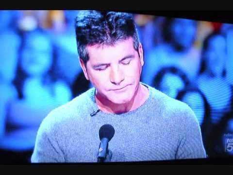 Simon Cowell Teared - Most Touching XFactor Audition 9-12- 2012 Jillian. i cried and i don't usually cry at these kinds of auditions.