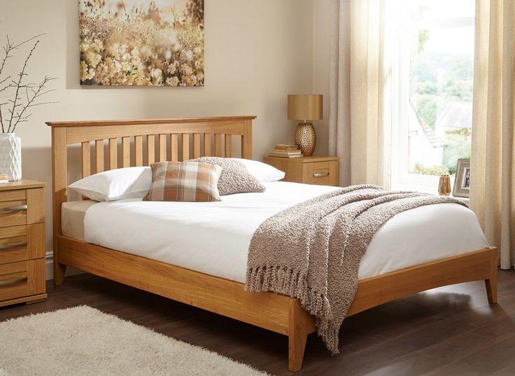 Kiev Solid Oak Bed Frame