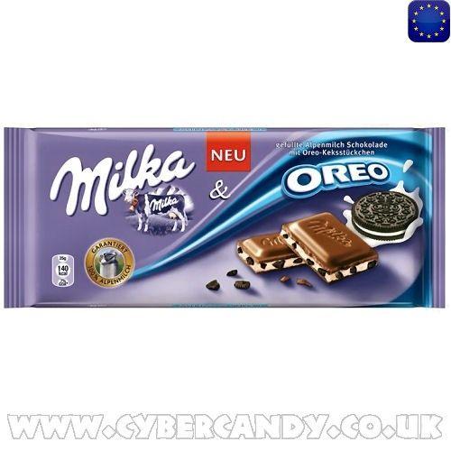 Milka & Oreo 100g Bar