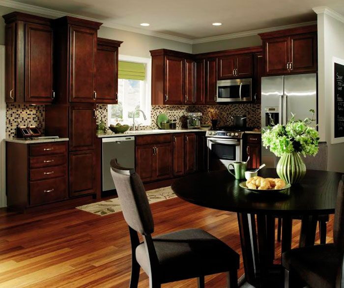 Brown Oak Kitchen Cabinets: ... Cabinet Door Style