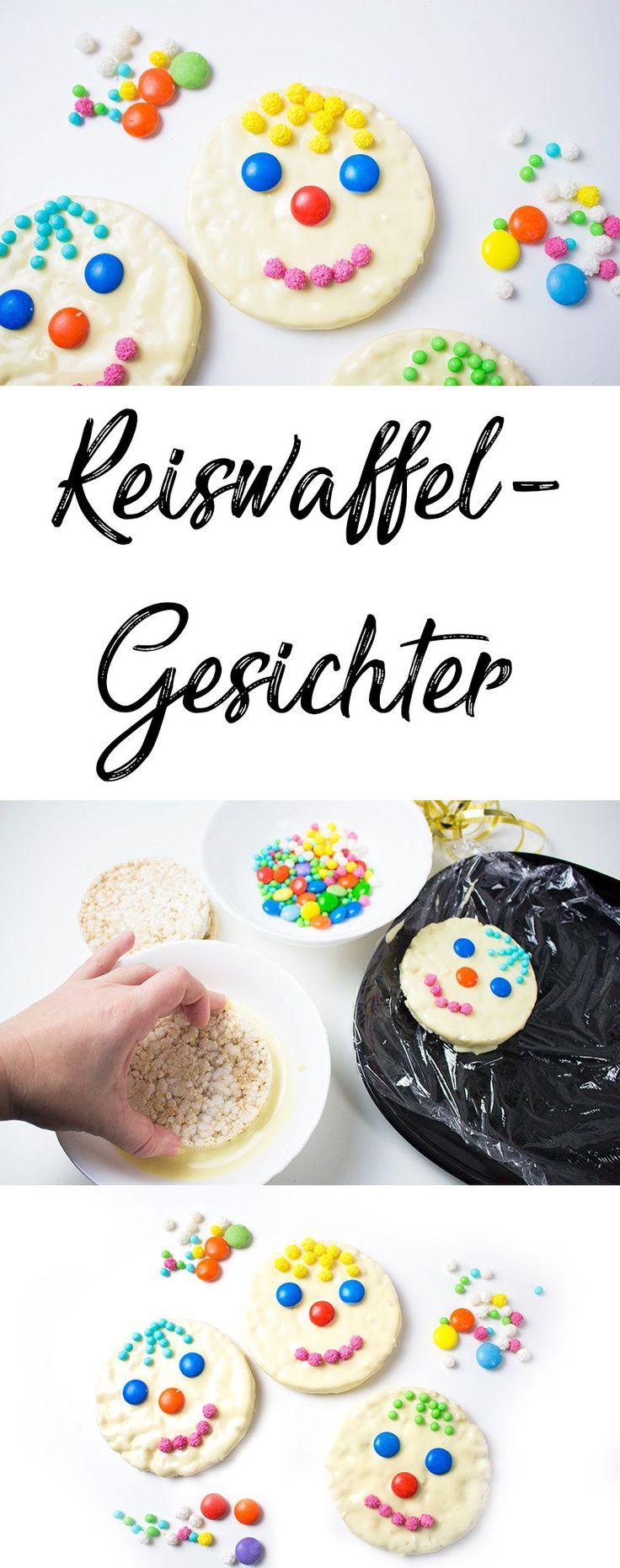Karnevalsparty – 4 schnelle Ideen für farbenfrohe Snacks   – ♥ Fasching mit Kindern ♥