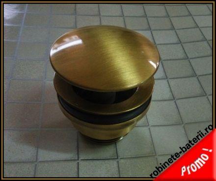 Ventil lavoar cu click-clack culoare bronz antichizat |