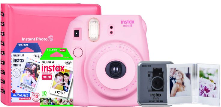 Fujifilm Instax Mini 8 Camera Value Bundle Pink | Buy Online in South Africa | takealot.com