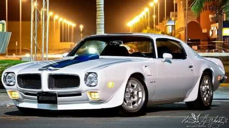 1970 Pontiac Firebird Trans Am in American racing livery ...