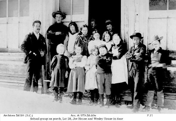 School children in Barkerville.