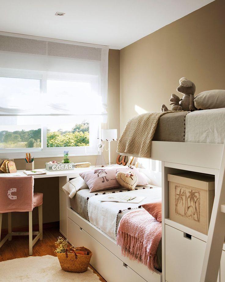 Las 25 mejores ideas sobre dormitorios peque os para - Ver habitaciones infantiles ...