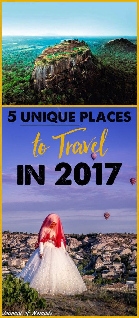 5 Unique Places to Travel in 2017