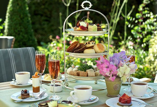 Afternoon Tea in Kensington Gardens, London