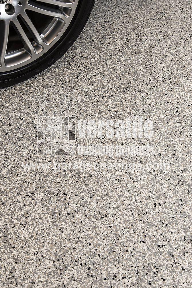 Garage Epoxy floor coating installed in a residential garage