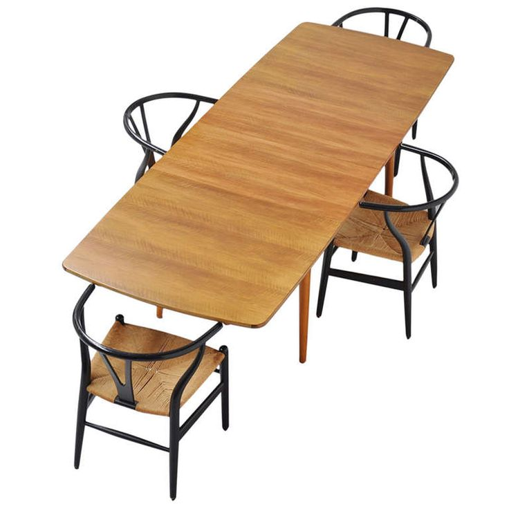 William Watting Long Fristho Dining Table 1960 With 2 Extension Leaves