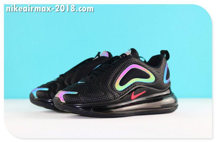 timeless design 76118 29a24 Nike Air Max 720 Mesh Cheap Men s Jogging Shoes Black Be True