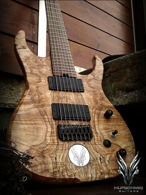 Hufschmid 7 string guitar