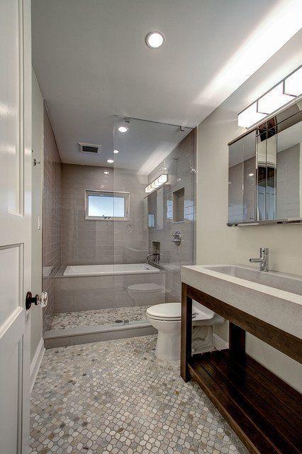 19 Narrow Bathroom Designs That Everyone Need To See